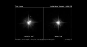 "NASA: ""Hubble's latest look at Pluto's moons supports a common birth"""